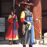 Changing of the guard ceremony, Deoksu palace
