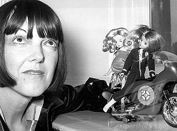 Mary Quant with Daisy and Havoc