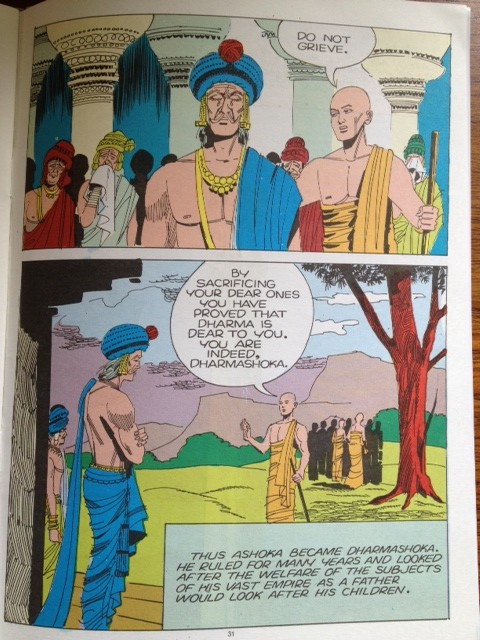 BUDDHA ACK ASHOKA