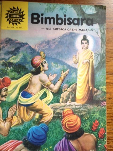BUDDHA ACK BIMBISARA