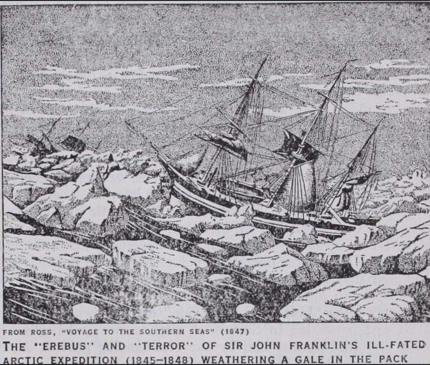 FRANKLIN ICE SHIP