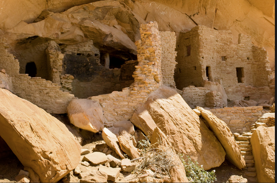 Anasazi abandoned city