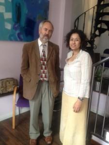 With Rabbi Jonathan Romain