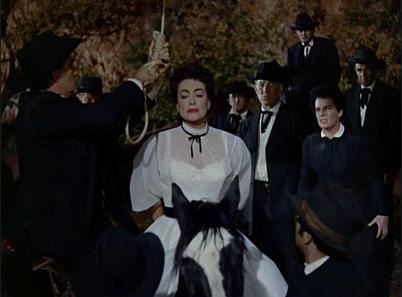 Joan in a dress
